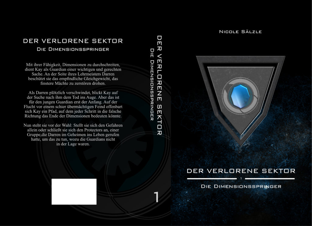 Der Verlorene Sektor: Die Dimensionsspringer Cover Umschlag