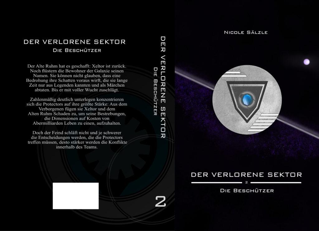 Der Verlorene Sektor: Die Beschützer (Cover - Umschlag)