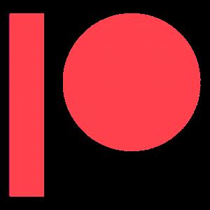 Patreon - Logo - Der Verlorene Sektor unterstützen